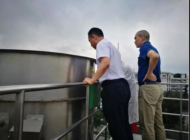 建研环境监测-现场检查企业废气治理设施