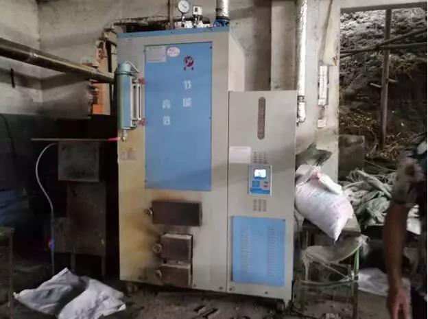 建研环境监测-典型违法行为:启用查封的生物质锅炉