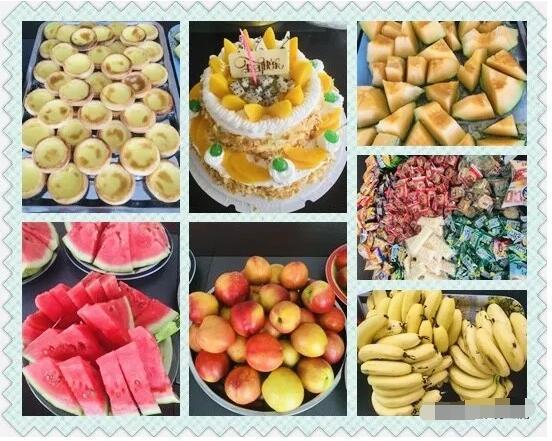 建研环境监测-生日会食物