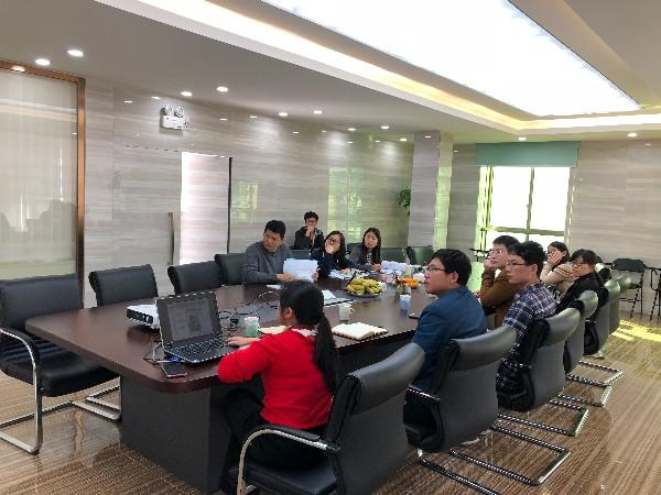 广州市环境监理所天河监理二站莅临我公司进行质控检查工作
