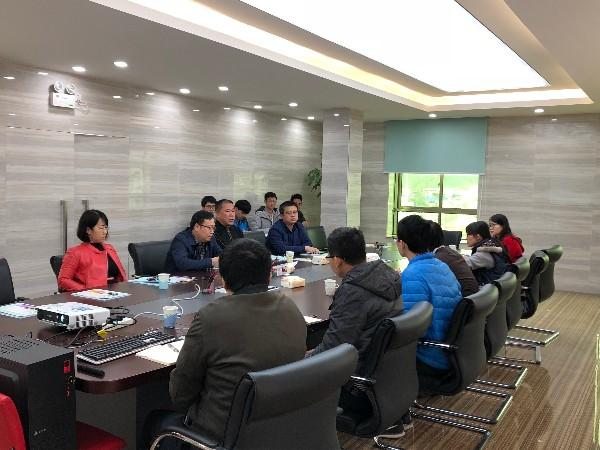 广州市开发区环境监测站领导过莅临我司进行指导和检查工作