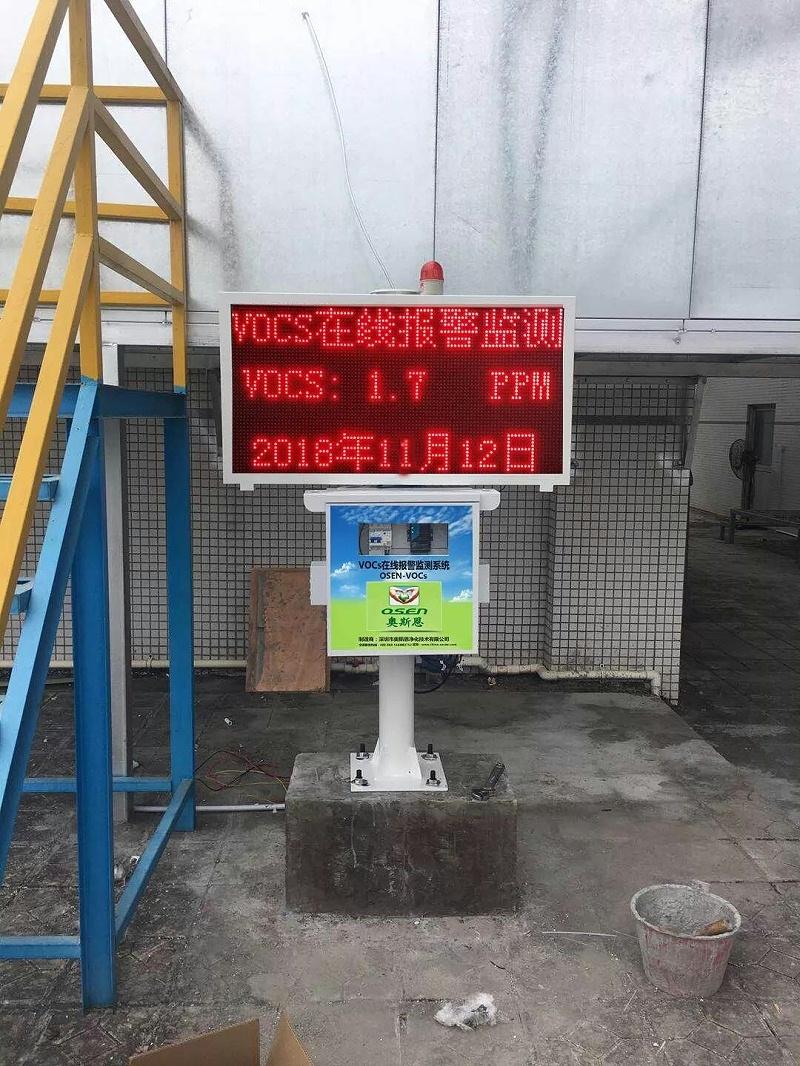建研环境监测-VOCs在线监测