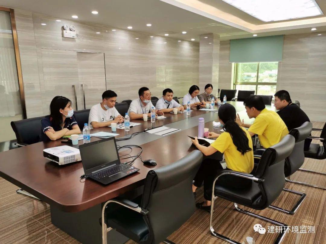 建研环境监测丨6月外委单位参观与检查工作情况