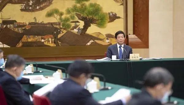 十三届全国人大常委会第五十次委员长会议在北京人民大会堂举行,栗战书委员长主持
